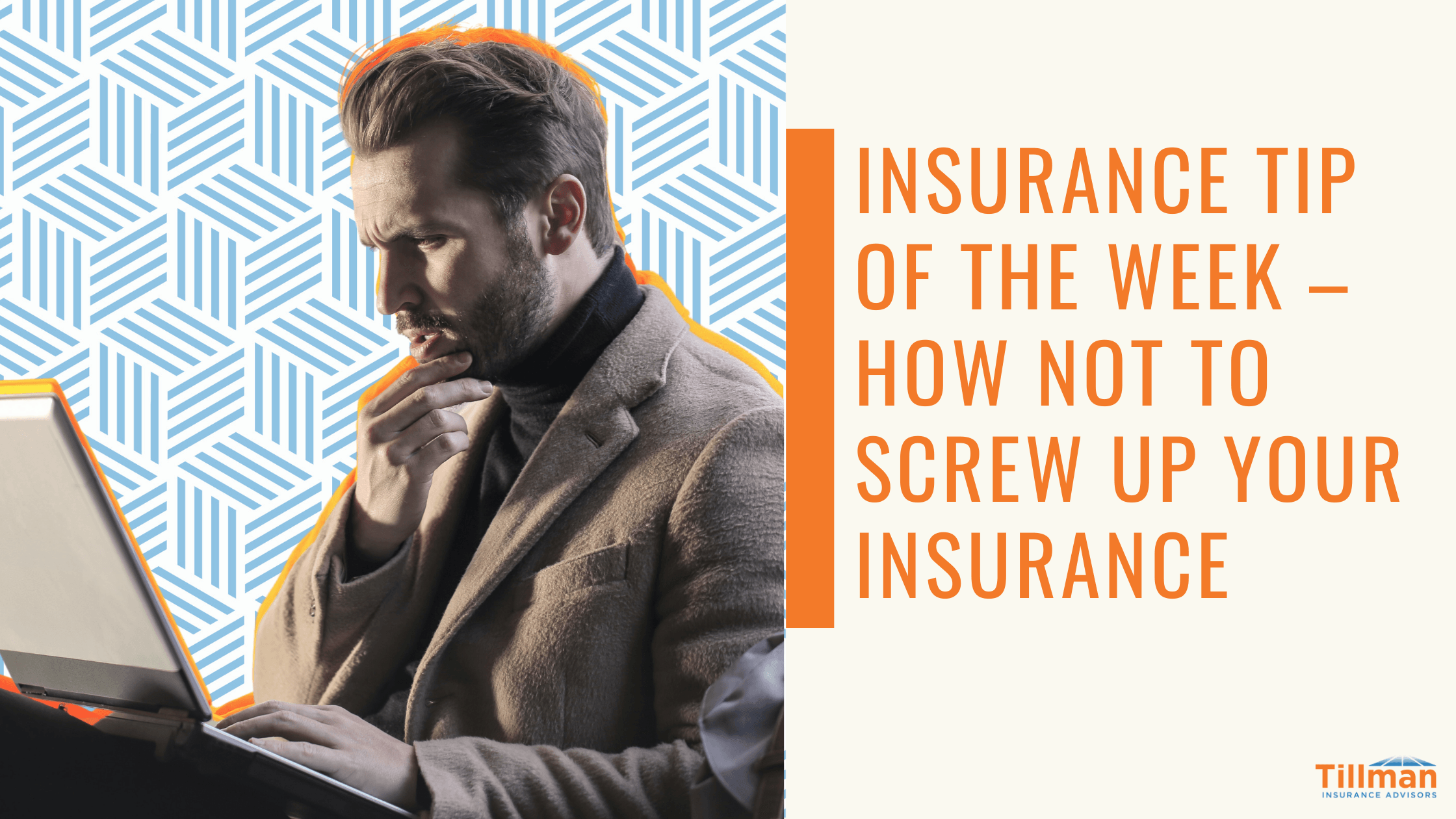 Insurance Tip of the Week